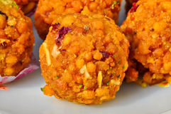 Motichoor ka Ladoo Royalty Free Stock Photos