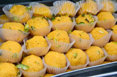 Motichoor ka Ladoo Stock Photos