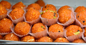 Motichoor ka Ladoo Stock Photo