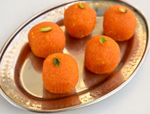 Motichoor ka Ladoo Royalty Free Stock Images