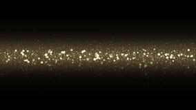 Motie grafisch van Kerstmis bokeh lichten stock footage