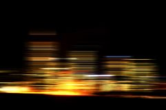 Motie van Lichten Royalty-vrije Stock Fotografie