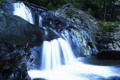 Motie van Mini Waterfall royalty-vrije stock afbeeldingen