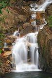 Motie van waterval in nationaal park Royalty-vrije Stock Foto's