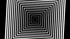 Motieachtergrond met het bewegen van geometrische vormen vector illustratie