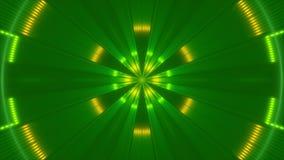 Motielicht en deeltjes, lijn stock footage