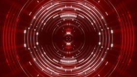 Motielicht en deeltjes, lijn stock video