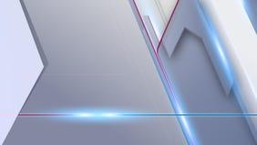 Motiepolitie met licht lijn vectorontwerp als achtergrond Royalty-vrije Stock Afbeeldingen