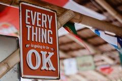 Motieventeken in restaurant stock fotografie