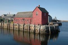 Motif #1. Rockport Harbor, MA royalty free stock photography