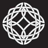 Motif celtique de noeud Photographie stock