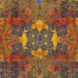 Motif d'Indien de conception florale Image stock