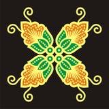 Motif de batik Photographie stock libre de droits