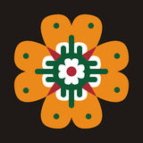 Motif de batik Photos libres de droits