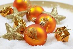 Motif de Noël Image libre de droits