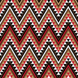 Motif ethnique comme partie de configuration africaine illustration stock