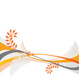 Motif floral de fond Photos libres de droits