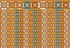 Motif floral de la géométrie Photos libres de droits