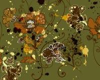 Motif floral de tapisserie Photos libres de droits