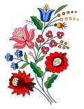 Motif folklorique hongrois illustration libre de droits