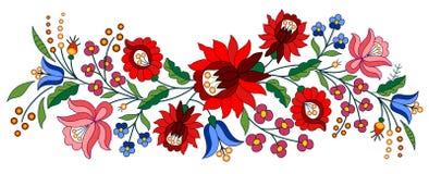 Motif hongrois traditionnel illustration stock