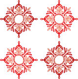 Motif or Medallion Designs Stock Photography