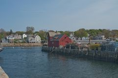 Motif no. one in Rockport MA royalty free stock photo
