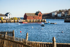 Motif Number One. This is Motif Number One, the most photographed image in Rockport, MA Stock Photos