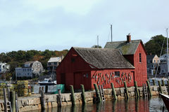 Motif 1 fishing shack  Rockport Massachusetts Stock Photo