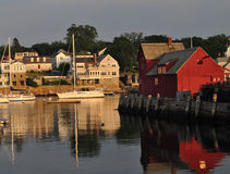 Motif Rockport MA. Rockport is a beautiful arbor and fishing village in Massachusettes close to Boston. The town is built around the harbor and is a major tourst stock photos