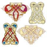 Motifs celtiques Photo libre de droits