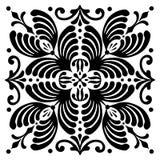 Motifs hongrois carrés abstraits Image stock