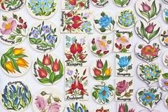 Motifs hongrois de fleur image libre de droits
