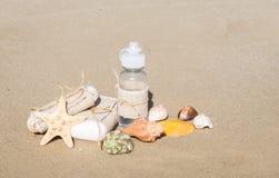 Motifs nautiques Harmonie avec soin de nature et de corps photographie stock libre de droits