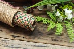 Motifs traditionnels de Kerawang Gayo Image stock