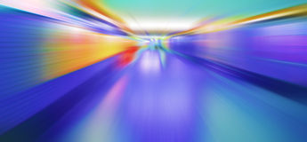 Motion. Abstract motion blur blue background Stock Images