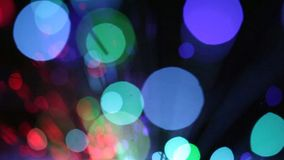 Motion background, blurred lights stock footage