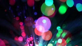 Motion background, blurred lights stock video footage