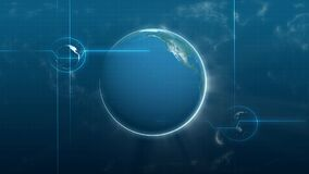 Motion background of earth. Video of motion background of earth stock video footage