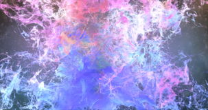 Motion Background VJ Loop - Pink Orange Purple Cyan Colorful Particles 4k stock footage