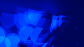 Motion blue abstract lights background