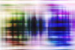 Motion blur background. Rainbow Light blur background for speed royalty free illustration