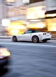 motion blur city street Royalty Free Stock Images