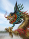 Motion blur of dragon. Royalty Free Stock Image