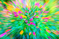 Motion blur flower Stock Photography