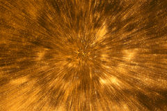 Motion blur gold wall background. Royalty Free Stock Photography