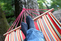 motion blur hammock Stock Photos