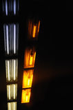 Lights in underground Royalty Free Stock Images