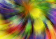 Motion blur manycolored rounds bokeh backgrounds Stock Images