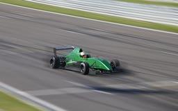 Motion blur of racing car Stock Image